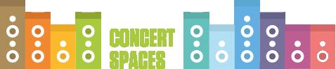 Concert spaces